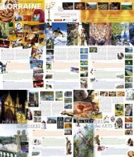 CRTL carte 630x735mm.indd - Tourisme en Lorraine