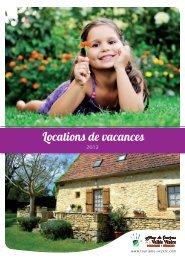 Locations de vacances - Offices de tourisme de la vallée de la Vézère
