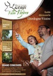 Guide découverte en Dordogne-Vézère - Offices de tourisme de la ...