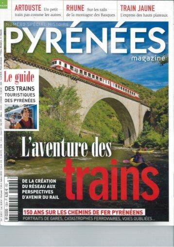 Consulter l'article sur le train de la Rhune - Tourisme 64