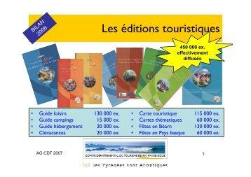 ASSEMBLEE GENERALE 2007 COMPRESSE - Tourisme 64