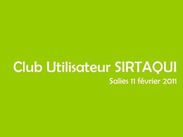 Convention de partenariat SIRTAQUI (Système d ... - Tourisme 64