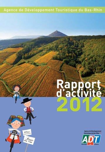 Doc 2012_Mise en page 1 - Agence de Développement Touristique ...