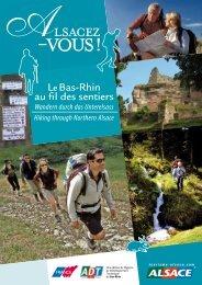 Le Bas-Rhin au fil des sentiers - Tourisme en Alsace