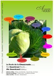 La Route de la Choucroute - Agence de développement touristique ...