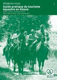 Guide pratique du tourisme équestre en Alsace - Agence de ...