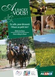 Reiten im Elsass - Tourisme en Alsace