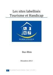 Les sites labellisés Tourisme et Handicap en Alsace - Agence de ...