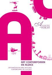 ART conTempoRAin en AlsAce - Agence de développement ...