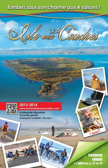 Consulter notre brochure - L'Isle-aux-Coudres