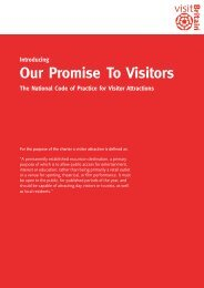 National Code of Practice for Visitor Attractions - thedms