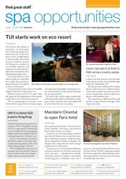 Spa Opportunities issue 115 - TourismInsights