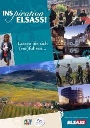 Inspiration Elsass ! Lassen Sie sich (ver)führen - Tourisme en Alsace