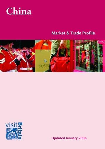 CHINA Market & Trade Profile - Tourisminsights.info