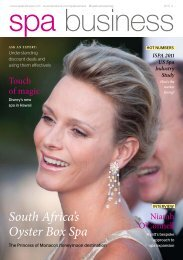 Spa Business issue 4 2011 - TourismInsights