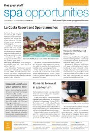 Spa Opportunities issue 126 - TourismInsights