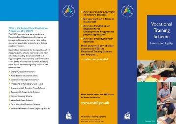 Vocational Training Scheme - TourismInsights