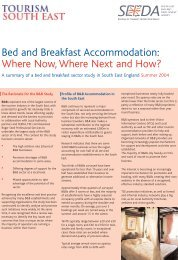 Bed and Breakfast Accommodation: Where Now, Where Next and ...