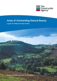 Areas of Outstanding Natural Beauty - Publications and products