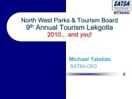 download presentation - North West Province