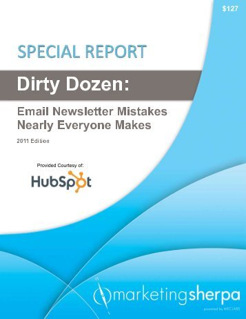 Email Newsletter Mistakes - TourismTechnology.com