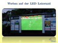 Werben auf der LED Leinwand - Tourismus Kur und ...