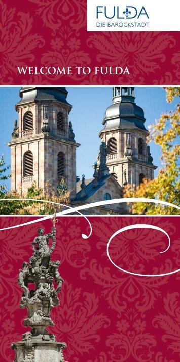 WELCOME TO FULDA - Tourismus Fulda