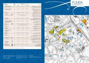 2013_FD Parkhausplan.indd - Tourismus Fulda