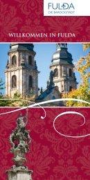 WILLKOMMEN IN FULDA - Tourismus Fulda