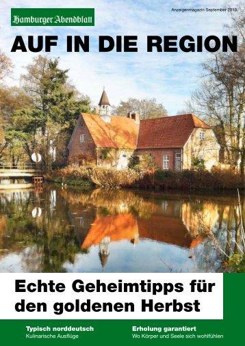 AUF IN DIE REGION - Stormarn Tourismus