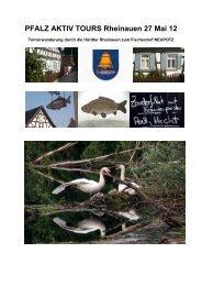 PFALZ AKTIV TOURS Rheinauen 27 Mai 12 - Jockgrim Tourismus
