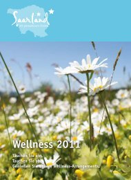 Wellness 2011 - Tourismus Zentrale Saarland