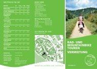 rad- und mountainbike touren vermietung - Stein am Rhein