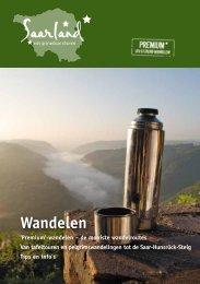 Wandelen - Tourismus Zentrale Saarland