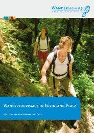 Wandertourismus in Rheinland-Pfalz - dehoga rhp