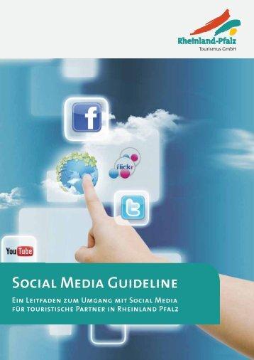 Social Media Guideline - Tourismusnetzwerk Rheinland-Pfalz