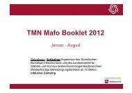 Marktforschungsbooklet Jan. - Aug. 2012 - Tourismuspartner ...