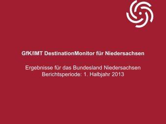 DestinationMonitor 1. Halbjahr 2013 - Tourismuspartner ...