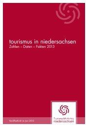 PDF-Download: tourismus in niedersachsen Zahlen-Daten-Fakten ...