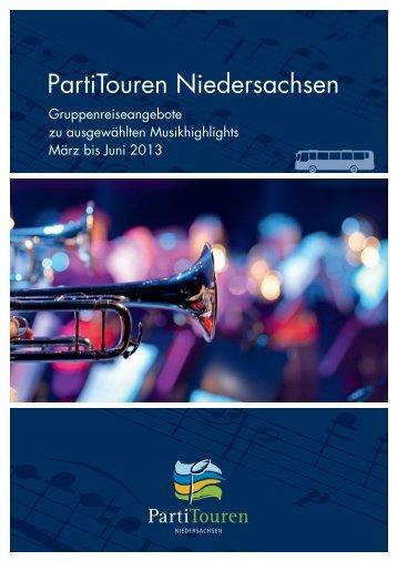 PartiTouren Niedersachsen - Musikland Niedersachsen