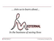 In the business of saving lives … Join us to learn ... - Design Science