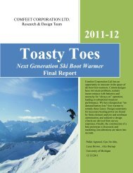 Next Generation Ski Boot Warmer Final Report - Design Science ...