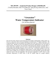 """Awarator"" Water Temperature Indicator - Design Science"
