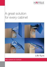 A great solution for every cabinet