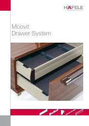 Moovit Drawer System