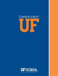 Spring 2013 Commencement Program (PDF) - Registrar - University ...