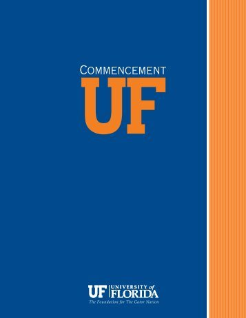 Spring 2013 Commencement Program (PDF) - Registrar - University ...