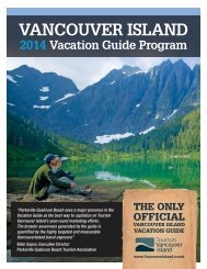 2014 Vacation Guide - Tourism Vancouver Island