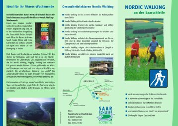 NORDIC WALKING - Saarschleife Touristik GmbH