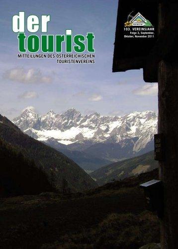 3/September 2011 - Österreichischer Touristenverein